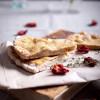 Лепешка с моцареллой, прованскими травами и вялеными помидорами