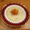 Нежный кабачковый суп с хворостом