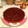 Сметанный бананово-шоколадный кекс