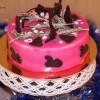 Торт с клюквой и розмарином