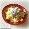 Теплый картофельный салат со сметанно-горчичным соусом