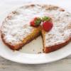 Простой клубничный пирог