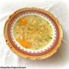 Суп из белой фасоли с пастой