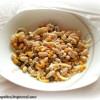 Фасолевый салатик  с сыром