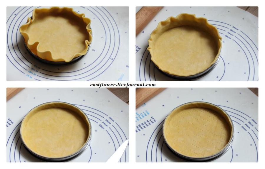Páte Brisée (mealy pie dough) - рассыпчатое тесто для пирога