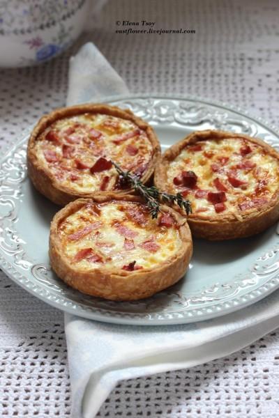 Слоистое песочное тесто для пирогов (flaky pie dough)