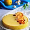 Медово-лимонный тарт с ежевичным кремё и муссом из рикотты
