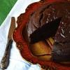Шоколадно-свекольынй пирог