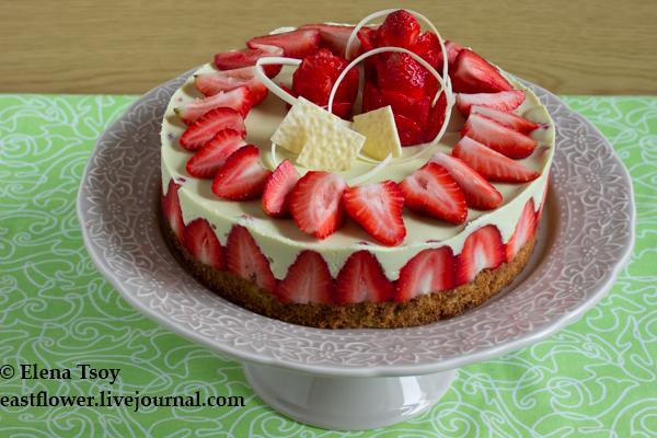 Торт -Frasier- фисташковый 2