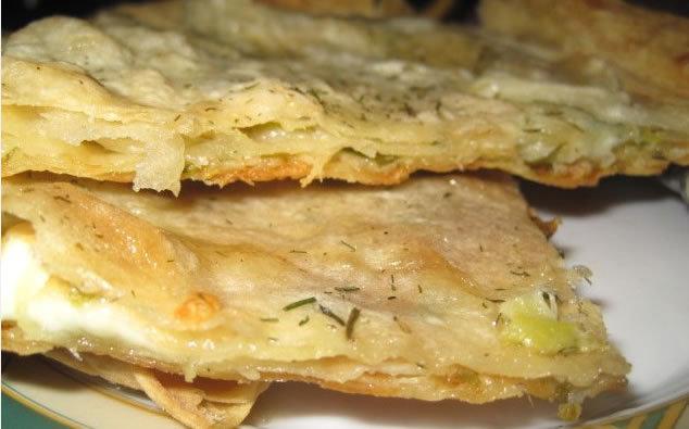 Хачапури с сыром и лавашом
