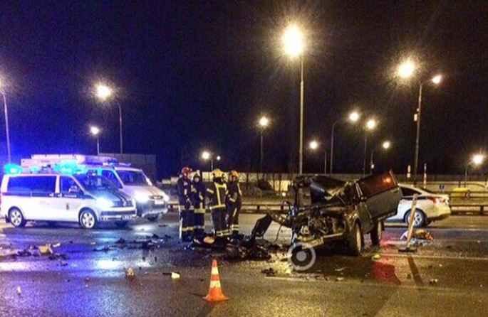 авария на Можайском шоссе 24 марта 2019