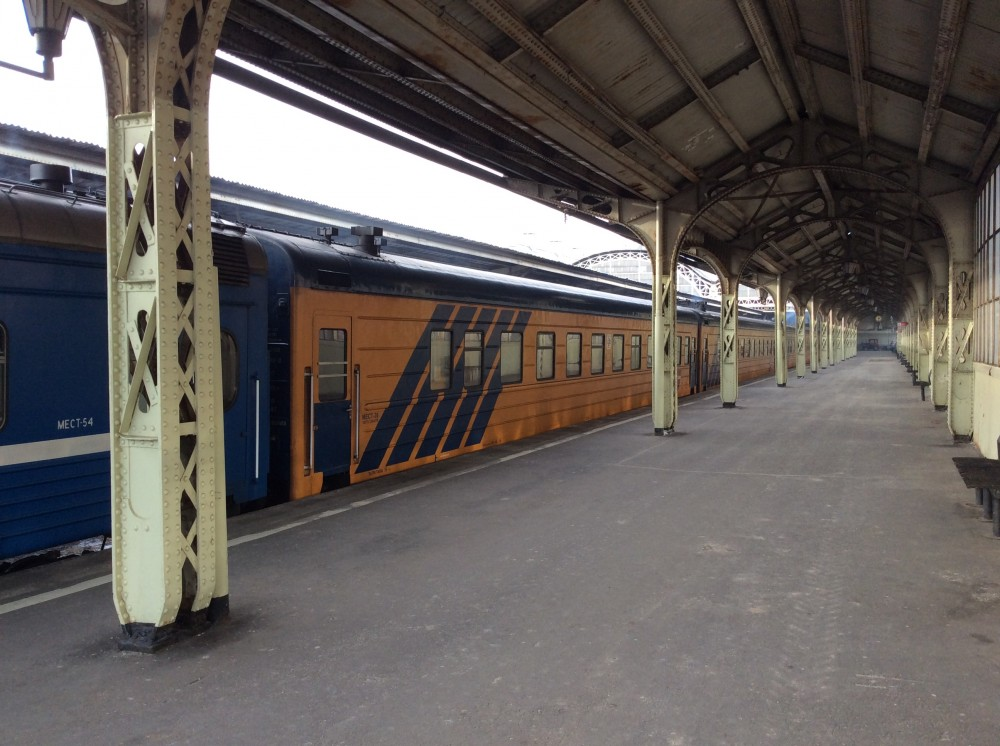 Международные поезда на Витебском вокзале