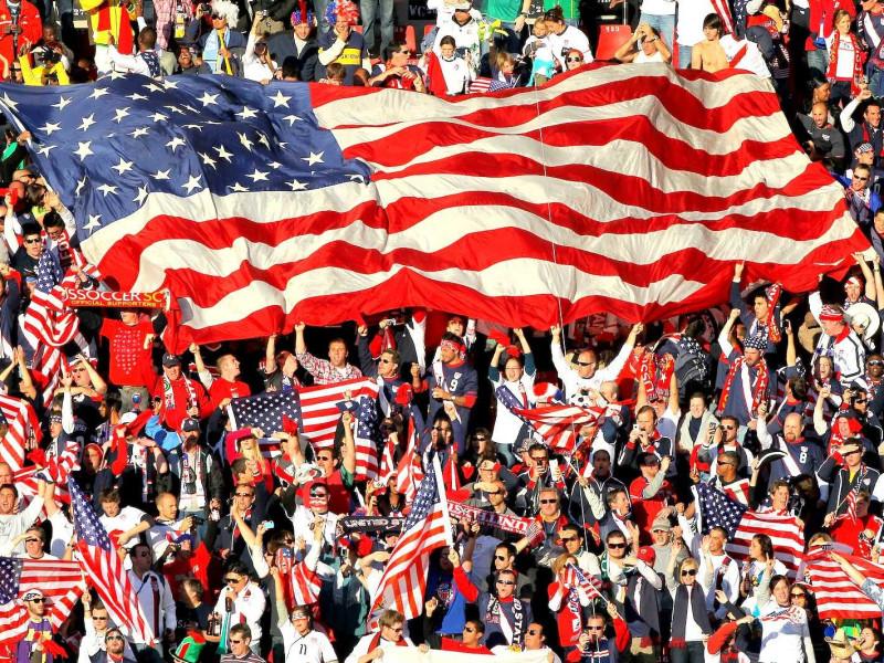 Демонстрация единства американской нации - любимая тема федеральных масс-медиа в США