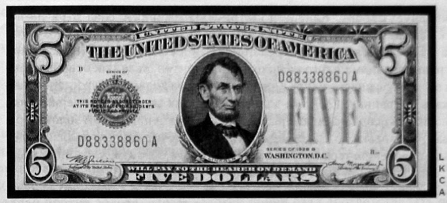 Банкноты, выпущенные в обращение Джоном Кеннеди