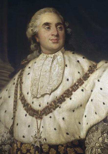Louis XVI en costume de sacre Фото (C) RMN-Grand Palais / Agence BullozParis, musée Carnavalet http://www.carnavalet.paris.fr/ https://art.rmngp.fr/en/library/artworks/joseph-siffred-duplessis_louis-xvi-en-costume-de-sacre_huile-sur-toile?page=6