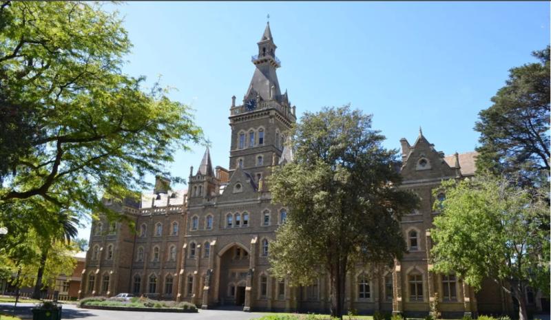 Ме́льбурнский университет — государственный университет Австралии, старейший в штате Виктория. Основной кампус университета располагается в Парквилле, одном из центральных районов города Мельбурна. Помимо основного кампуса в Парквилле, университет имеет ещё 6 кампусов, расположенных как в самом Мельбурне, так и в других городах штата Виктория. Член Группы восьми и Песчаниковых университетов.