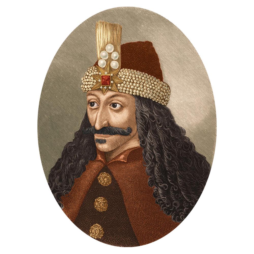 Влад Дракула. Единственный прижизненный портрет князя, написанный с него неизвестным художником во время пребывания в венгерской тюрьме. Фото - https://www.travelonromania.com/from-dracula-to-brancusi/