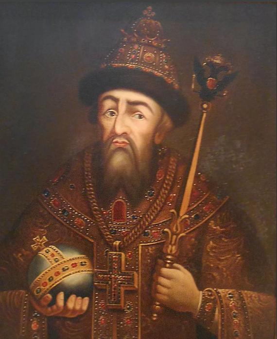Иоанн Васильевич Грозный, первый Царь всея Руси (1530-1584)