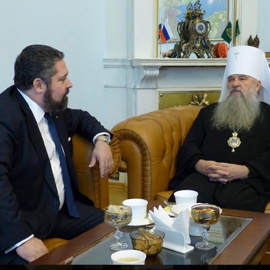 16 октября. Встреча с митрополитом Санкт-Петербургским и Ладожским Варсонофием