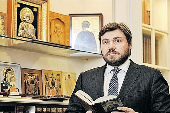 Konstantin Malofeev, from Комзомольская Правда, Dec. 23, 2013