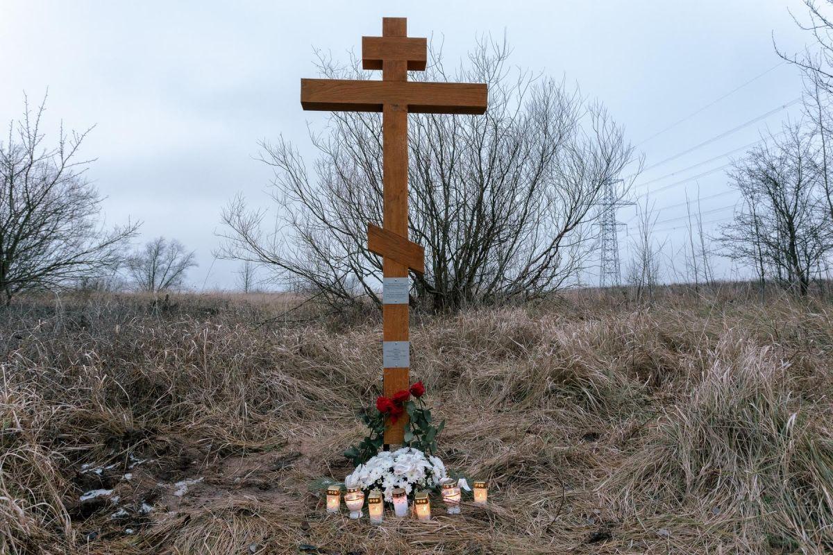 В воскресенье, 9 декабря 2018 г., недалеко от м. Круонис был освящен поклонный крест на месте убиения Преосвященнейшего Сергия (Воскресенского), митрополита Литовского, Экзарха Прибалтики. https://blagovest.lt/novosti/osvyashchenie-kresta-na-meste-ubieniya-mitropolita-sergiya-voskresenskogo