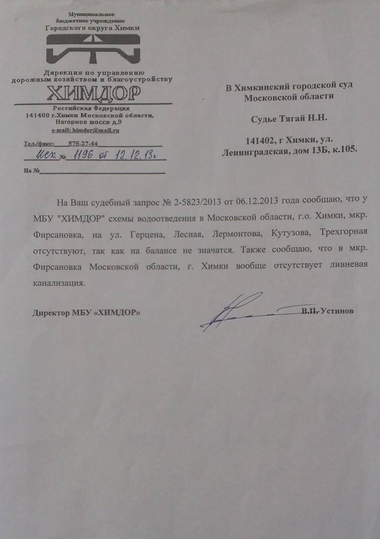 12-12-2013-Химдор ров отсутвтует