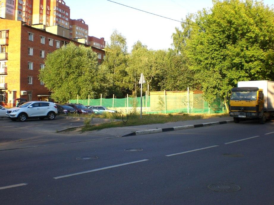08-2014 фундамент магазина дорога