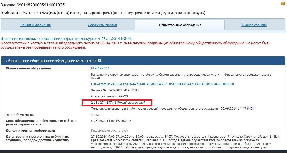 Путепровод Тендер 2,1 млрд
