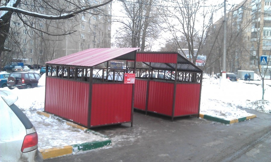 Контейнеры ул Пожарского