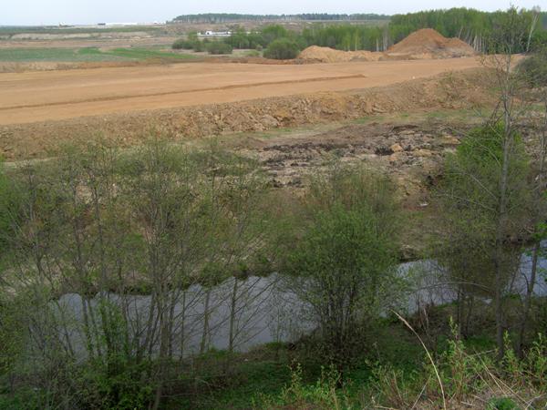 """НПО  """"Прозрачный мир """" об уничтожении реки Клязьмы."""