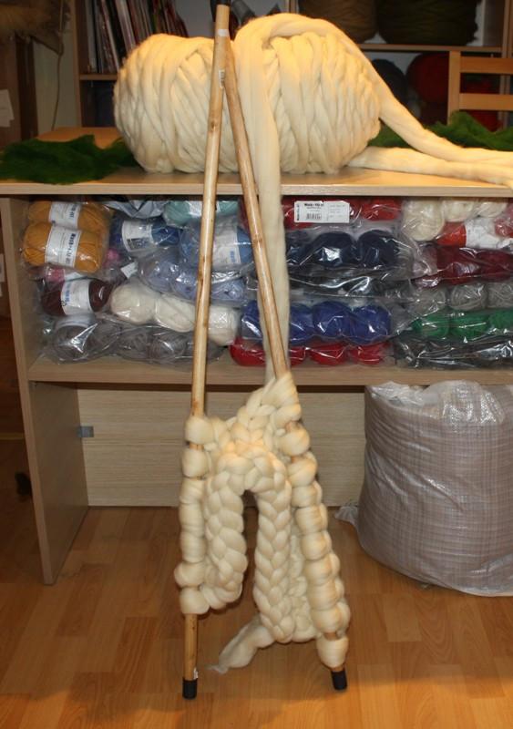 Толстые спицы для вязания своими руками 4