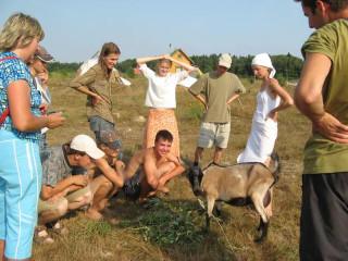 Занятие по животноводству
