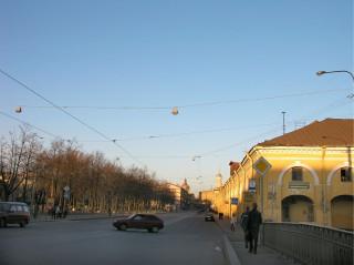 Улица Садовая у Никольских рядов
