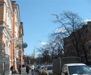Улица Фурштатская, угол с улицей Потемкинской