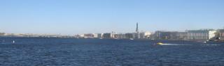 Вид с набережной Стрелки Васильевского Острова - экспертиза