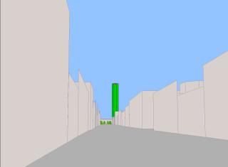Улица Фурштатская - модель