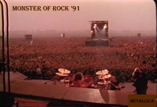 Metallica moscow 1991 concert