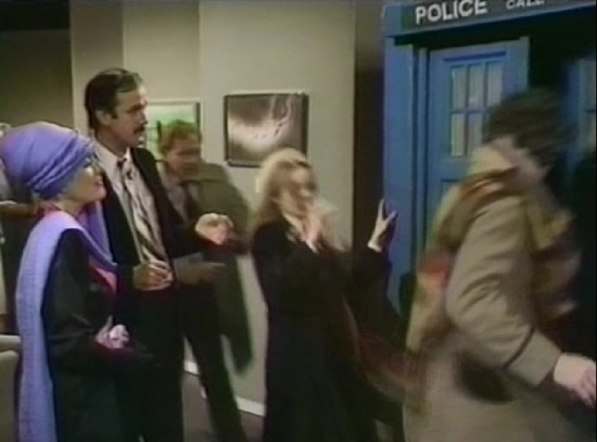 Basil Fawlty Meets The Doctor