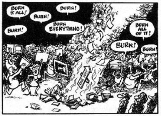 Burn It All 03 by Gilbert Shelton