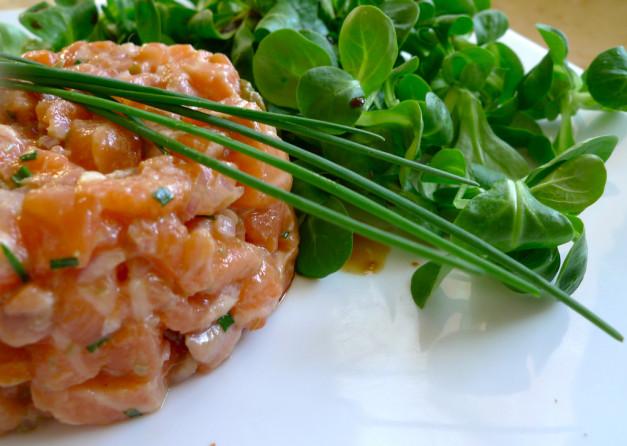 Тартар из рыбы рецепт с фото