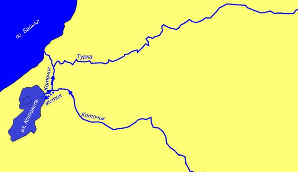 Карта схема котокель