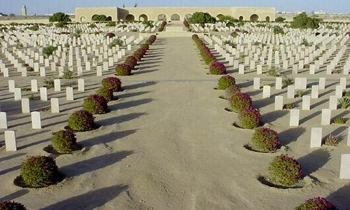 Немецкое военное кладбище в Эль-Аламейне