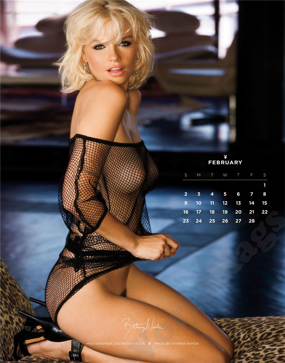 Britany Nola / Miss November 2012