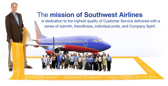 Mission-of-southwest-Airline
