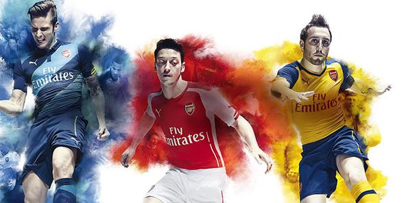 Arsenal-three-kits-14-15-new-premier-league-kits