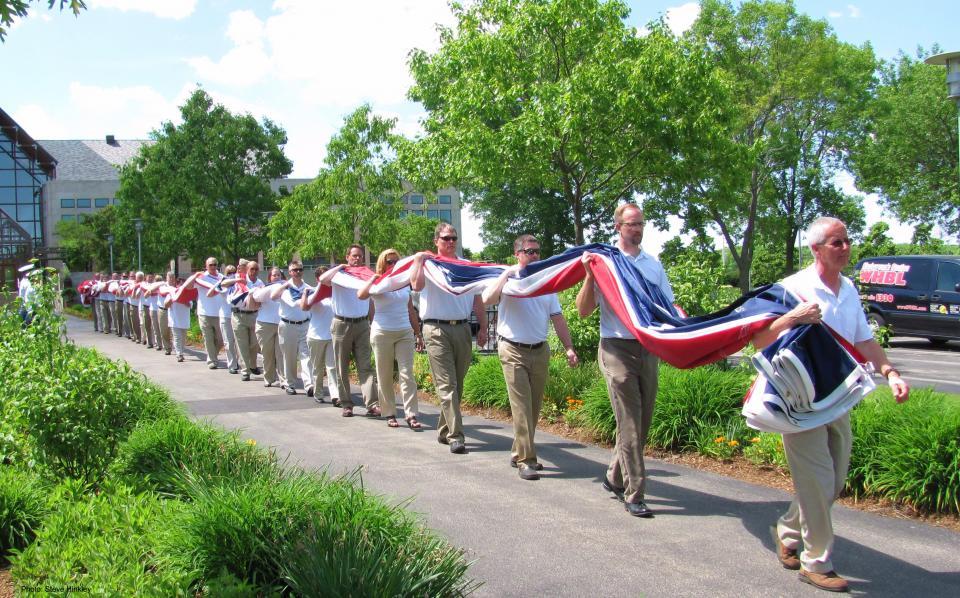 3 ACUITY Veterans Flag Dedication