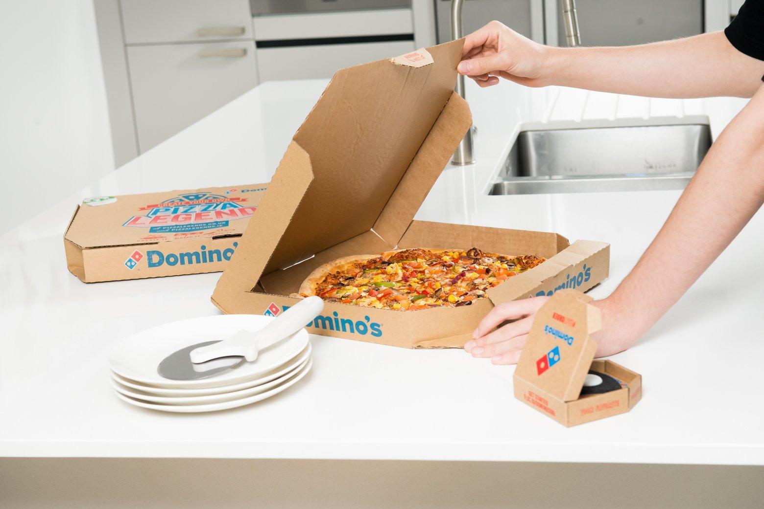 Кнопка Domino's Pizza