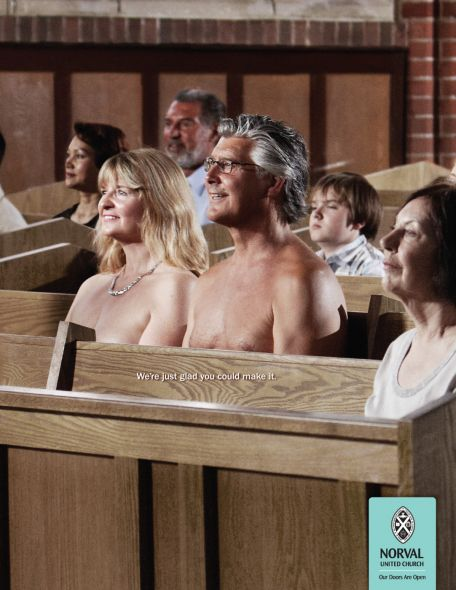 UnitedChurch Glad You Could Make It (Nudists)