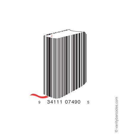 штрих-код для печатной продукции