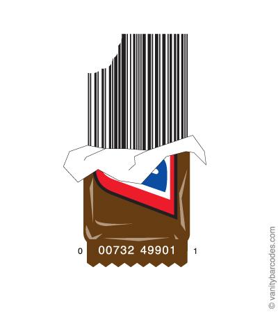 штрих-код для сладостей